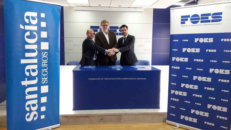 Santalucía Seguros y FOES firman acuerdo de colaboración