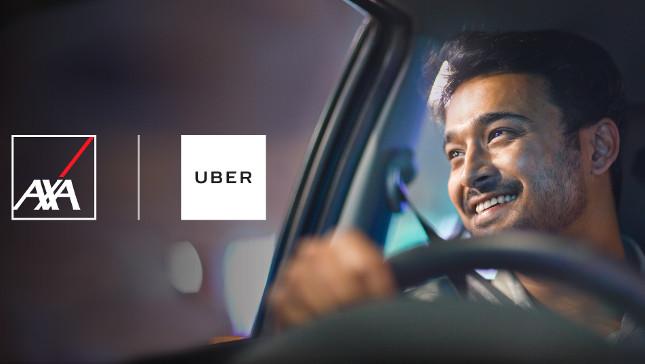 Uber y Axa se unen para asegurar a conductores y repartidores