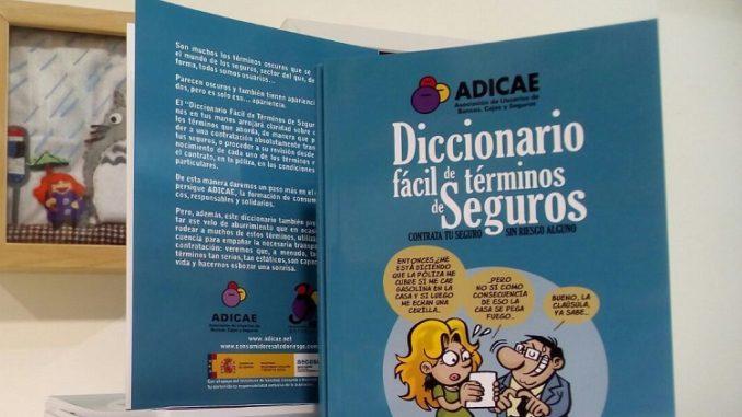 ADICAE diccionario de seguros