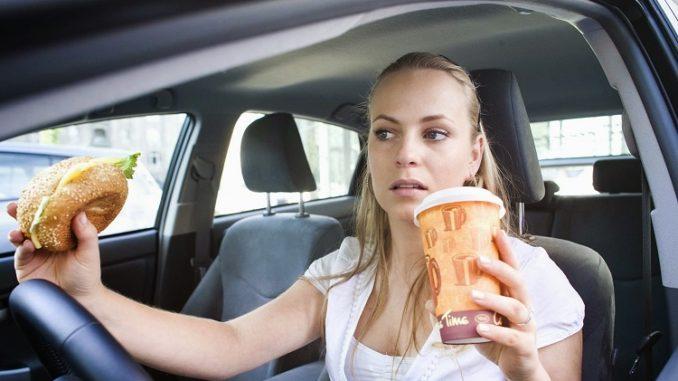 Imprudencia al volante