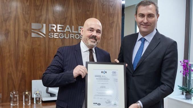 Reale Seguros obtiene la certificación ISO